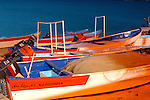 PANGA BOATS on BEACH