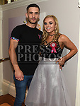 Jessica Branigan celebrating her 21st birthday with boyfriend Luka Marcella in Barocco at the Westcourt hotel. Photo:Colin Bell/pressphotos.ie