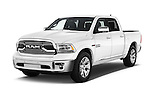 2016 Ram 1500 Laramie-Limited-Crew 4 Door Pickup Angular Front stock photos of front three quarter view