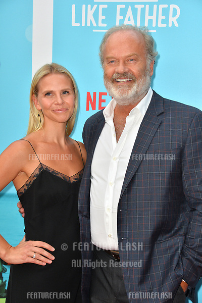 """Kelsey Grammer & Kayte Walsh at the Los Angeles premiere of """"Like Father"""" at the Arclight Theatre, Los Angeles, USA 31 July 2018<br /> Picture: Paul Smith/Featureflash/SilverHub 0208 004 5359 sales@silverhubmedia.com"""