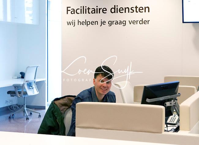 UTRECHT - Rim Voorhaar van Hockey.NLHockeycongres bij de Rabobank in Utrecht. FOTO KOEN SUYK