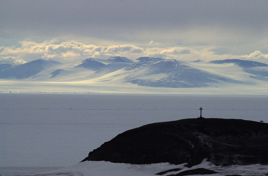 Vince's Cross, McMurdo Station, Antarctica