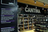 Campagna di informazione sui prodotti alimentari.Information campaign on food.<br /> Supermercato Coop.