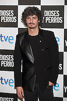 Antonio Pagudo poses at `Dioses y perros´ film premiere photocall in Madrid, Spain. October 07, 2014. (ALTERPHOTOS/Victor Blanco) /nortephoto.com
