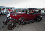 Dan and Barbara Bonfield from Escondido, CA in their 1931 Nash 880 during Hot August Nights at the Grand Sierra Resort on Tuesday, August 2, 2016.