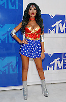 NEW YORK, NY - AUGUST 28:Farrah Abraham attend the 2016 MTV Video Music Awards at Madison Square Garden on August 28, 2016 in New York City Credit John Palmer / MediaPunch