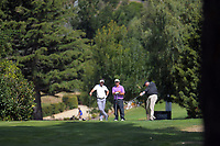 Charlie Smail, Andrew Henare and Jordan Pruden. Day two of the Jennian Homes Charles Tour / Brian Green Property Group New Zealand Super 6s at Manawatu Golf Club in Palmerston North, New Zealand on Friday, 6 March 2020. Photo: Dave Lintott / lintottphoto.co.nz