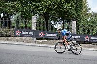 a strong Dries De Bondt (BEL/Veranda's Willems Crelan) up the Wijnpers climb. <br /> <br /> 51th GP Jef 'Poeske' Scherens 2017 <br /> Leuven - Leuven (13local laps/153.7km)