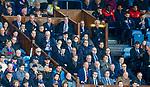 22.04.2018 Rangers v Hearts: Rangers directors box