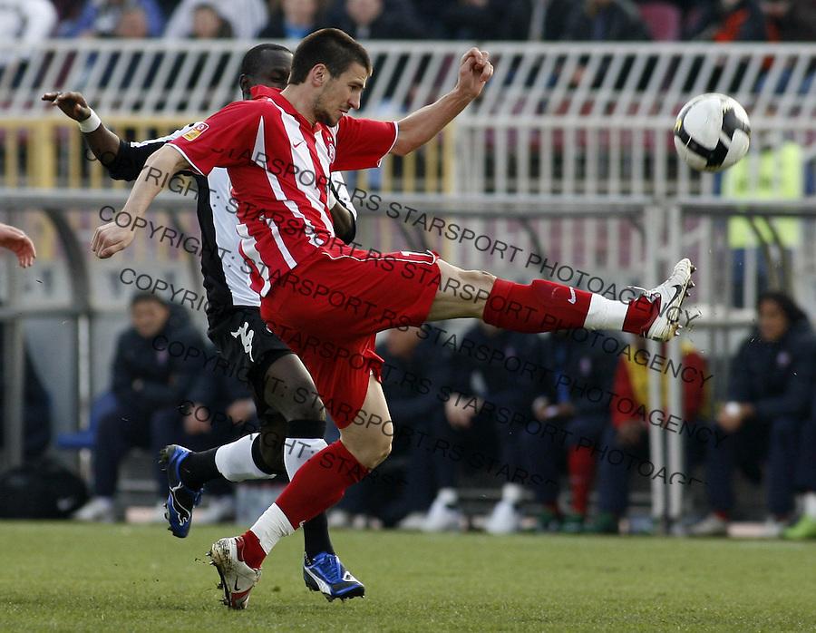 Nenad Tomovic Sport Fudbal Soccer Football Partizan Beograd Srbija Belrade Serbia Crvena Zvezda red Star Derbi (foto: Pedja Milosavljevic) +381641260959 thepedja@gmail.com