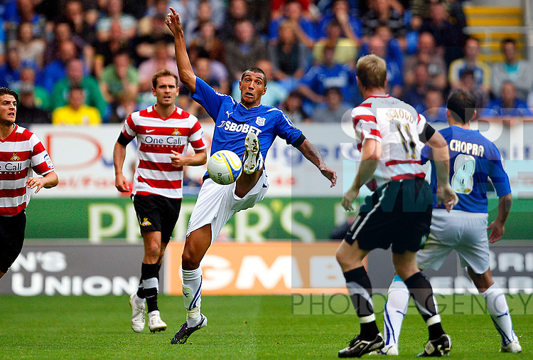 Jay Bothroyd of Cardiff City in action