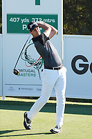 Tomas Gouveia (POR) during Round 1 of the Portugal Masters, Dom Pedro Victoria Golf Course, Vilamoura, Vilamoura, Portugal, 24/10/2019<br /> Picture Andy Crook / Golffile.ie<br /> <br /> All photo usage must carry mandatory copyright credit (© Golffile | Andy Crook)