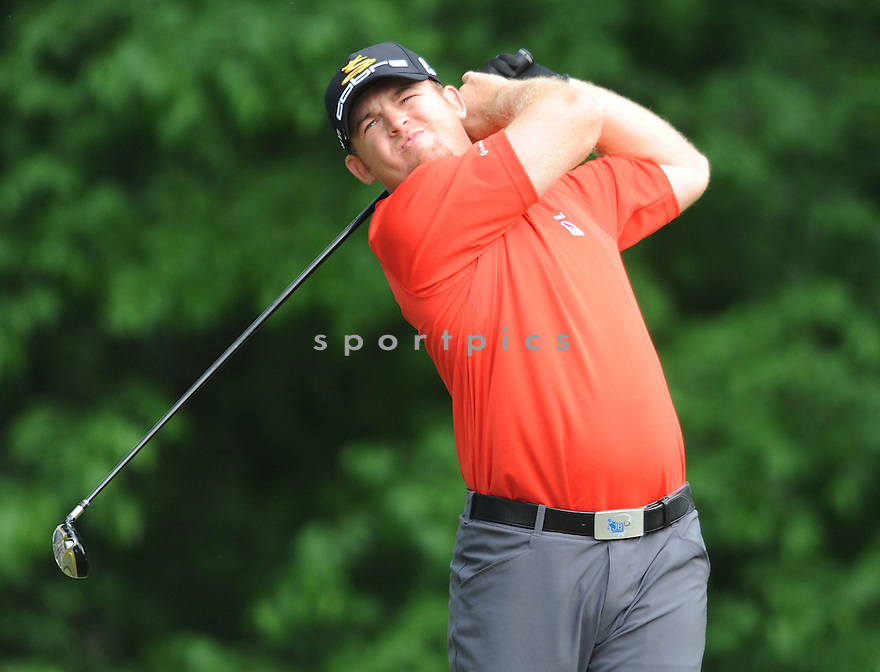 JB HOLMES, during the first round of the Quail Hollow Championship, on April 30, 2009 in Charlotte, NC.