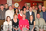 Retirement: On Friday night last in Bettys Bar, Strand Road, Noel Brennan from Killarney (seated centre) retired from Customs and Excise after 31 years service. Family and work colleagues who attended his party were Olive Flynn, Kitty, Noel and Michelle Brennan, John OConnor, Con Murphy, Noel Brennan (Jnr), Mike Flynn, Ed King, Michael Phelan, Eamon Cournane, Kay OMahony, Aine Cantillon, Gerry Cournane, PJ Doolin, Charlie OConnell, Jerry Corcoran, Tom Griffin and Jack OBrien..