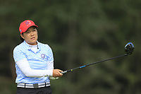 Yae Eun Kim (Dominican Republic) during final day of the World Amateur Team Championships 2018, Carton House, Kildare, Ireland. 01/09/2018.<br /> Picture Fran Caffrey / Golffile.ie<br /> <br /> All photo usage must carry mandatory copyright credit (&copy; Golffile | Fran Caffrey)