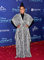 "LOS ANGELES, USA. November 08, 2019: Yvette Nicole Brown at the world premiere for Disney's ""Frozen 2"" at the Dolby Theatre.<br /> Picture: Paul Smith/Featureflash"