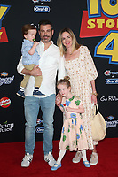 "LOS ANGELES,  CALIFORNIA - JUNE 11:  Jimmy Kimmel attends the premiere of Disney and Pixar's ""Toy Story 4"" on June 11, 2019 in Los Angeles, California. <br /> CAP/MPIFS<br /> ©MPIFS/Capital Pictures"