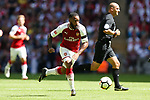 Alexandre Lacazette of Arsenal during the The FA Community Shield match at Wembley Stadium, London. Picture date 6th August 2017. Picture credit should read: Charlie Forgham-Bailey/Sportimage