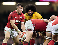 Photographer Simon King/CameraSport<br /> <br /> International Rugby Union - 2017 Under Armour Series Autumn Internationals - Wales v Australia - Saturday 11th November 2017 - Principality Stadium - Cardiff<br /> <br /> World Copyright &copy; 2017 CameraSport. All rights reserved. 43 Linden Ave. Countesthorpe. Leicester. England. LE8 5PG - Tel: +44 (0) 116 277 4147 - admin@camerasport.com - www.camerasport.com