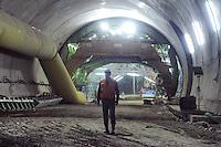 - cantiere per la costruzione della nuova autostrada Pedemontana Varese-Bergamo....- yard for the construction of new highway Pedemontana from Varese to Bergamo