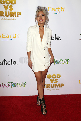 "Hollywood, CA - NOVEMBER 07: Amy Pham at Premiere Of ""God vs Trump"" At TCL Chinese Theatre, California on November 07, 2016. Credit: Faye Sadou/MediaPunch"