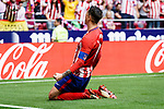 Fernando Torres of Atletico de Madrid celebrating his score during the La Liga match between Atletico Madrid and Eibar at Wanda Metropolitano Stadium on May 20, 2018 in Madrid, Spain. Photo by Diego Souto / Power Sport Images