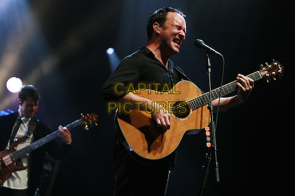 DAVE MATTHEWS BAND.Performing live at the 02 Arena, London, England..March 6th, 2010.stage concert live gig performance music half length black shirt guitar singing .CAP/MAR.© Martin Harris/Capital Pictures.