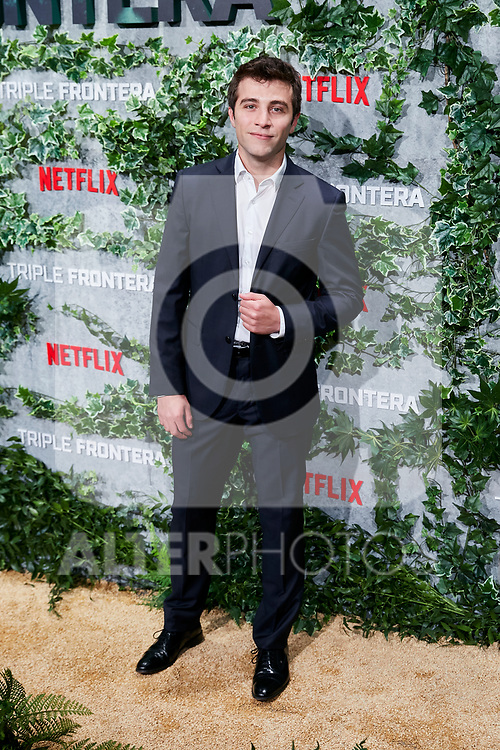 Pol Monen attends to Triple Frontera premiere at Callao City Lights in Madrid, Spain. March 06, 2019. (ALTERPHOTOS/A. Perez Meca)