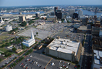 1994 June ..Redevelopment..Macarthur Center.Downtown North (R-8)..LOOKING SOUTH WITH FREEMASON STREET GARAGE ON RIGHT...NEG#.NRHA#..