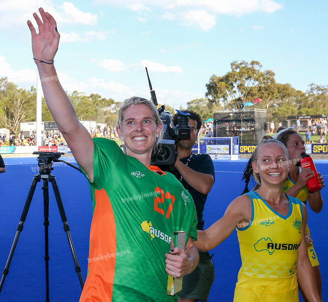Hockey Australia<br /> Hockey Pro League Melbourne<br /> Hockeyroos v Netherlands <br /> 02/02/19<br /> <br /> <br /> <br /> Photo: Grant Treeby