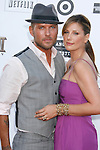"""TV personality Daisy Fuentes (R) and recording artist Matt Goss arrive at the 2008 Los Angeles Film Festival's """"HellBoy: II The Golden Army"""" Premiere at the Mann Village Westwood Theater on June 28, 2008 in Westwood, California."""