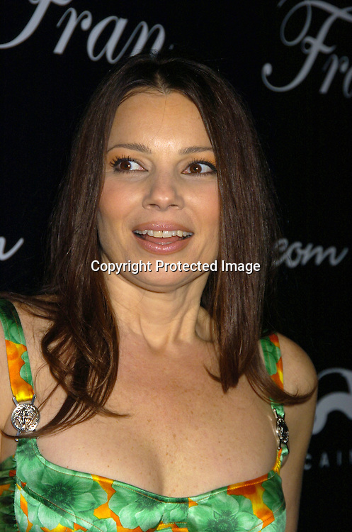 "Fran Drescher ..at The Premiere Party for ""Living with Fran""  sponsored by ..Pureromance.com on April 8, 2005 at Cain Lounge. ..Photo by Robin Platzer, Twin Images"