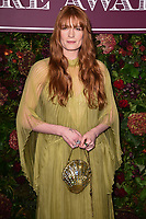 Florence Welch<br /> arriving for the Evening Standard Theatre Awards 2019, London.<br /> <br /> ©Ash Knotek  D3539 24/11/2019