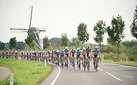 peloton on its way to Rotterdam<br /> <br /> 2nd World Ports Classic 2013<br /> stage 1: Antwerpen (BEL) - Rotterdan (NLD)<br /> 165km