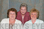 MUSIC: Enjoying Johnny Barrett in concert at the community centre in Ballybunion on Friday night were Mary Ryan, Cathy Phillips, and Joan Coughlan from Ballybunion..