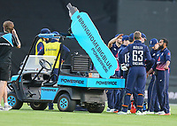 The Powerade drinks cart during the third ODI cricket match between the Blackcaps & England at Westpac stadium, Wellington. 3rd March 2018. © Copyright Photo: Grant Down / www.photosport.nz
