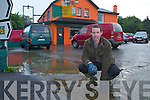 Niall Kavanagh proprietor of The Golden Nugget, Fossa which flooded on Monday evening.