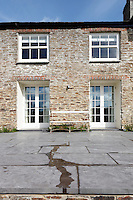 Architect Alex Michaelis used local stone in the restoration of this Cornish property