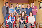 SPORTS & LEISURE: The students of the Sports & Leisure Outdoor course at the IT Tralee APA Awards at the Meadowlands hotel, Tralee on Thursday seated l-r: Katie McCormack, Martina O'Brien and Aisling Ryan. Back l-r: Charlie McCarthy, Daragh McCarthy, George Melia, Peter Nash, Gearoid O'Doherty and Mick Finn.