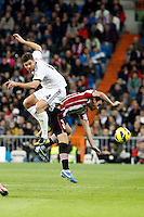 Real Madrid CF vs Athletic Club de Bilbao (5-1) at Santiago Bernabeu stadium. The picture shows Xabi Alonso and Jon Aurtenetxe. November 17, 2012. (ALTERPHOTOS/Caro Marin) NortePhoto