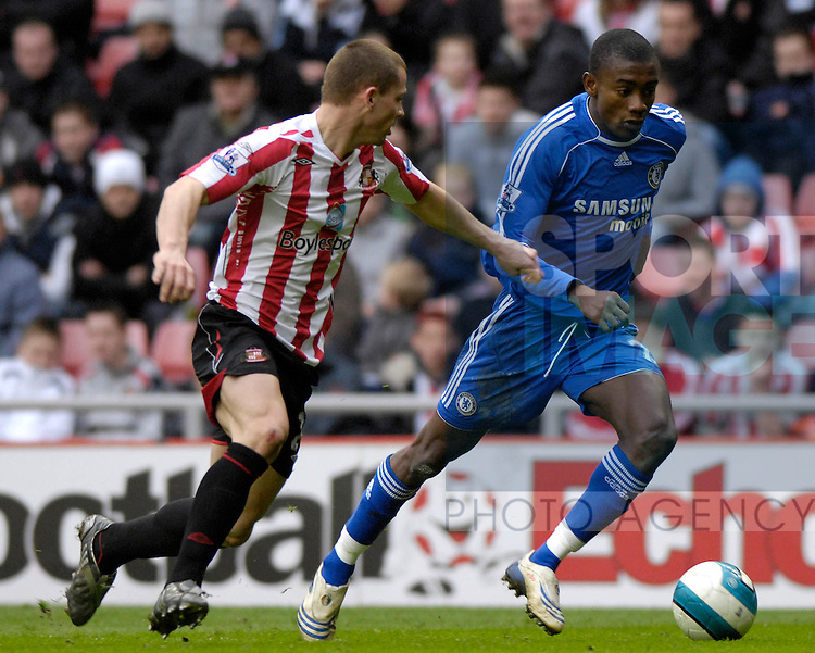 Sunderland's and Chelsea's