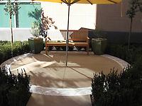 Jordan Wave mosaic border for the Public Library Newport Beach, CA