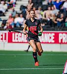 AMSTELVEEN -  Marijn Veen (A'dam)   tijdens de hoofdklasse competitiewedstrijd hockey dames,  Amsterdam-Oranje Rood (5-2). COPYRIGHT KOEN SUYK