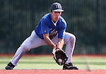 Western Nevada College's Connor Klein makes a play against the College of Southern Nevada at John L. Harvey field, on Sunday, April 27, 2014, in Carson City, Nev.<br /> Photo by Cathleen Allison/Nevada Photo Source