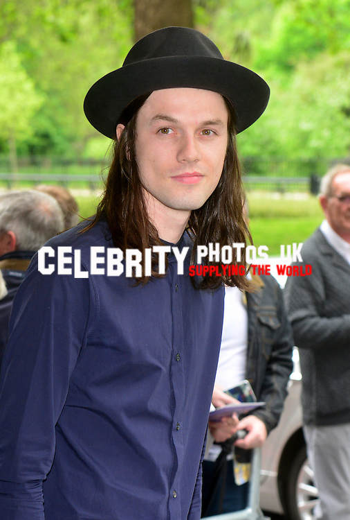 James Bay  at the Ivor Novello Awards at the Grosvenor House Hotel, Park Lane, London on May 19th 2016