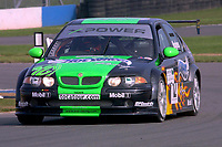 Round 10 of the 2002 British Touring Car Championship. #12 Warren Hughes (GBR). MG Sport & Racing. MG ZS.