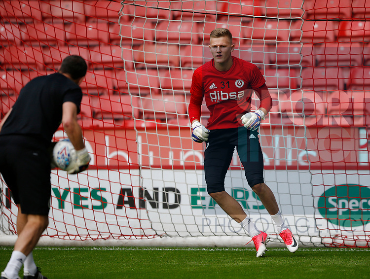 Jake Eastwood of Sheffield Utd during the pre season friendly at Bramall Lane Stadium, Sheffield. Picture date: July 25th 2017. Picture credit should read: Simon Bellis/Sportimage