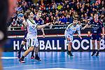 7-Meter durch Patrick WIESMACH (#4 SC DHfK Leipzig) \ beim Spiel in der Handball Bundesliga, SG BBM Bietigheim - SC DHfK Leipzig.<br /> <br /> Foto &copy; PIX-Sportfotos *** Foto ist honorarpflichtig! *** Auf Anfrage in hoeherer Qualitaet/Aufloesung. Belegexemplar erbeten. Veroeffentlichung ausschliesslich fuer journalistisch-publizistische Zwecke. For editorial use only.