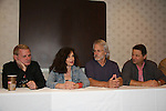 Thomas G. Waites, Deborah Van Valkenburgh, Michael Beck, Terry Michos - The Warriors - 30 years reunion during Q & A at Super Megashow & Comic Fest on August 30, 2009 in Secaucus, New Jersey (Photo by Sue Coflin/Max Photos)