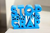 Nederland  Eindhoven 2017 . DDW. Dutch Design Week.  Expositie in de Witte Dame. Graduation Show.  Stop Printing Crap.   Foto Berlinda van Dam / Hollandse Hoogte
